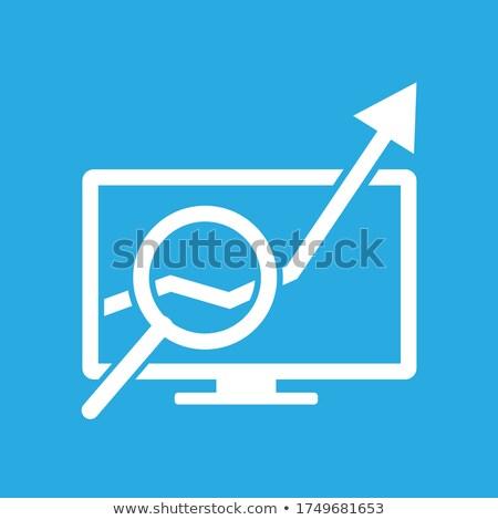 iş · grafik · arama · motoru · arama · Internet · teknoloji - stok fotoğraf © ivelin