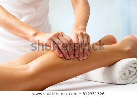Leg massage Stock photo © Novic