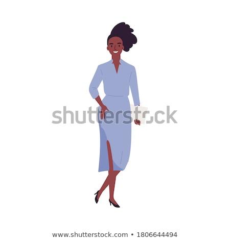 donna · indossare · ufficiale · casuale · stile · isolato - foto d'archivio © Elnur