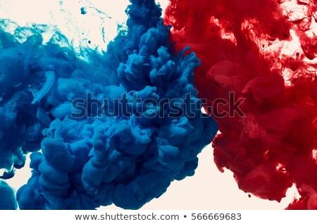 Coloré vagues isolé résumé rouge beige Photo stock © cosveta