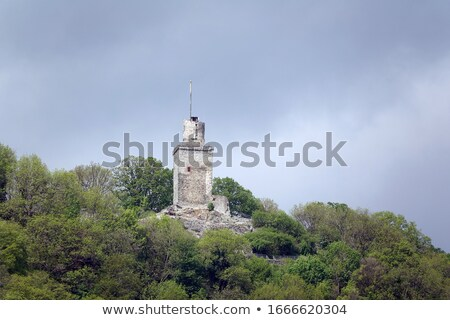 ruiny · starych · zamek · Szkocji · budynku · krajobraz - zdjęcia stock © meinzahn