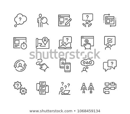 Test Icon Design stock photo © sdCrea