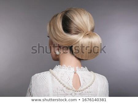 Belo senhora fabuloso bela mulher mulher moda Foto stock © konradbak