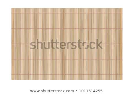 bambu · tablo · kahverengi · plaj · ada · ev - stok fotoğraf © digifoodstock