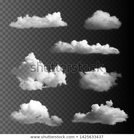 Wolken groot ingesteld internet web Blauw Stockfoto © cammep