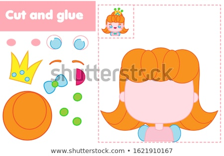 Educational children game. Toddlers activity. Stock photo © anastasiya_popov