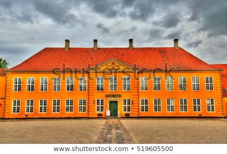 Town hall, Roskilde Stock photo © borisb17