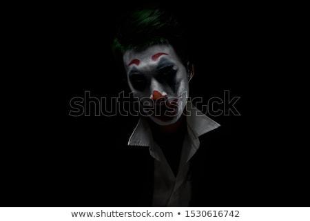 scary · potwora · clown · kobieta · twarz · film - zdjęcia stock © nito
