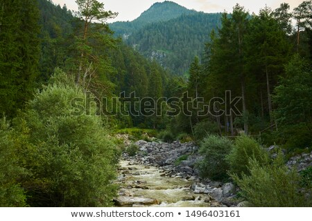 Cascade of Kuhfluchtwasserfall. Farchant, Garmisch-Partenkirchen, Bavaria, Germany Stock photo © dmitry_rukhlenko