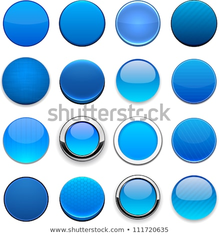 Blue Button Stock photo © hlehnerer