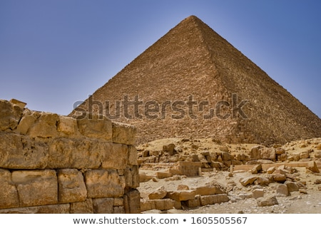 Pyramid of Cheops Stock photo © prill