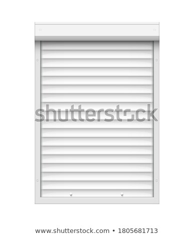 Close up of shop warehouse security shutters. Stock photo © latent