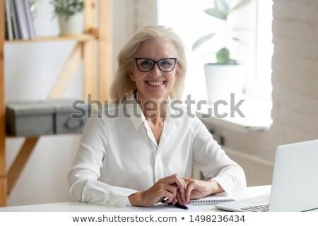 Senior financial counselor Stock photo © photography33