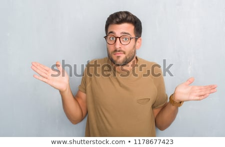 Clueless man. Stock photo © photography33