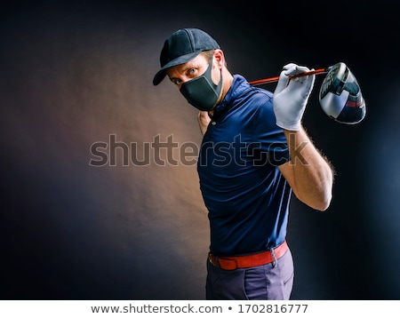 Golfer with club on his shoulder. Stock photo © photography33