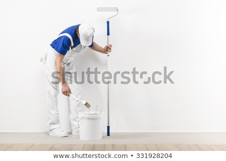craftsman painter preparing the paint Stock photo © photography33