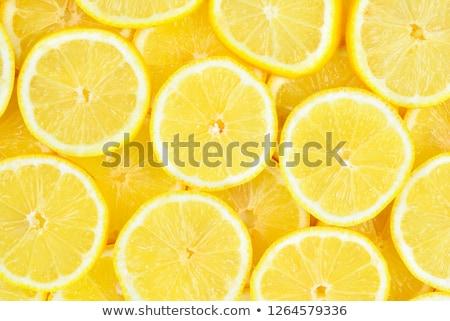 close up of a lemon stock photo © silent47
