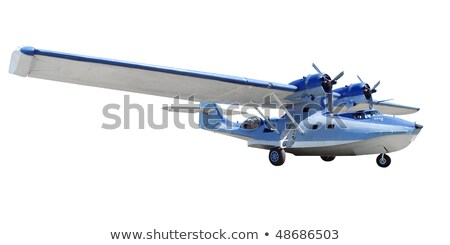 catalina flying boat sea plane stock photo © patrimonio