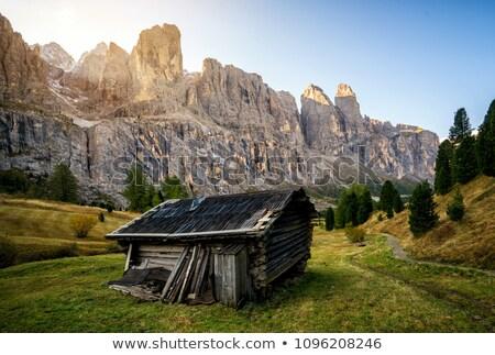 paysage · groupe · ciel · maison · herbe - photo stock © Antonio-S
