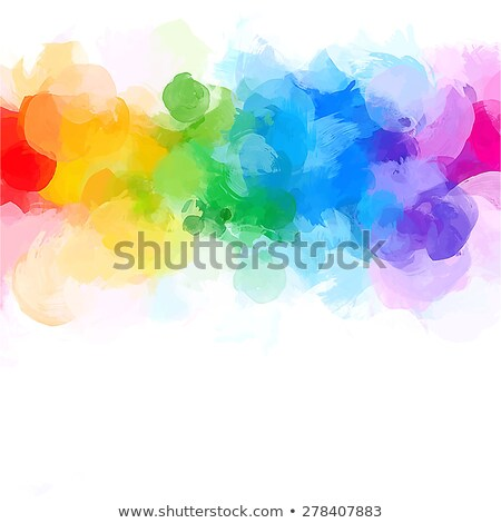 colorful raster rainbow abstract background Stock photo © blotty