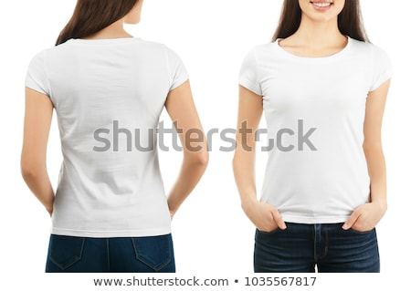 various t shirts on white background Stock photo © ozaiachin
