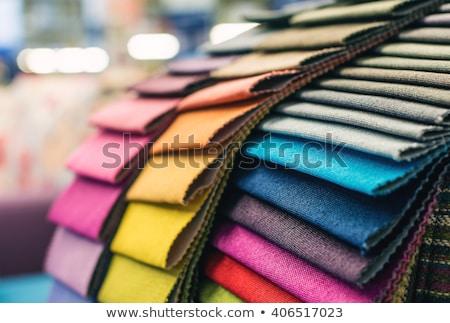 fabric upholstery stock photo © trgowanlock