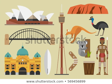 Australian landmark Stock photo © iofoto
