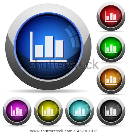 Grey Glossy Stat Bars Stock photo © cidepix