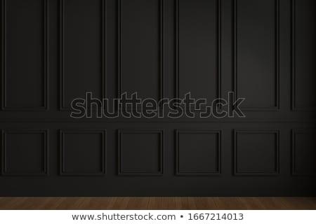 Mur couvert texture bois fond architecture Photo stock © janhetman