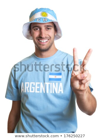 Argentinian Volleyball Team stock photo © bosphorus