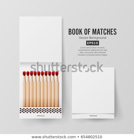 Matchbook Stockfoto © pikepicture