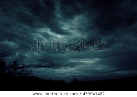 Dark sky Stock photo © dutourdumonde