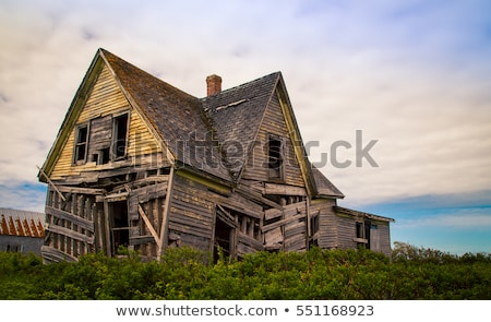 Dilapidated houses Stock photo © w20er