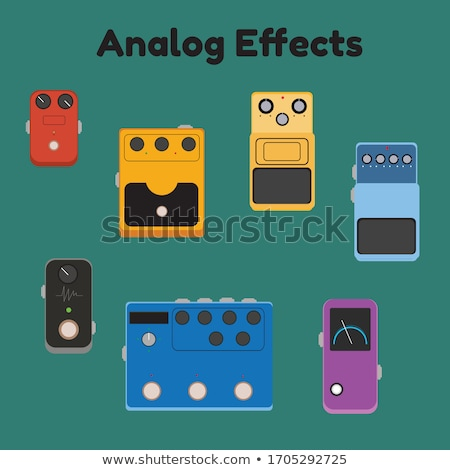 Guitar pedal Stock photo © Lizard