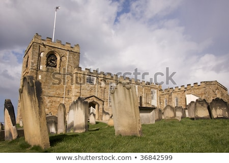 Templom észak Yorkshire kilátás ősi kő Stock fotó © photohome