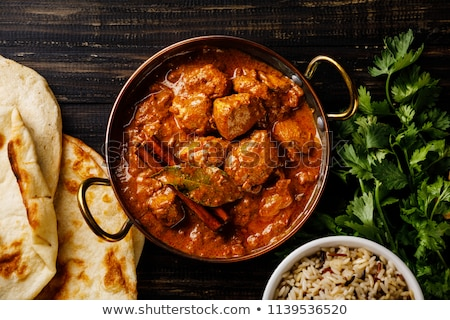 Chicken Tikka Stock photo © neillangan