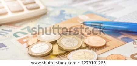 Calculator with money - Credit Stock photo © Zerbor