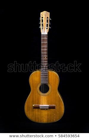 Very Old Guitar Stock photo © Bigalbaloo