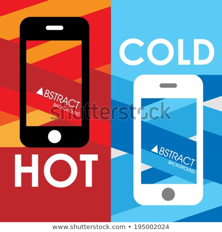 Hot line phone in fire Stock photo © Anterovium
