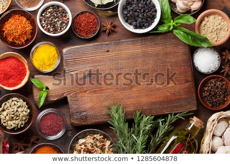 various wooden cutting boards stock photo © digifoodstock