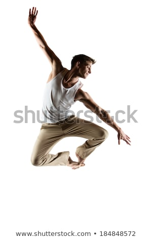Kafkas erkek dansçı yetişkin beyaz Stok fotoğraf © handmademedia