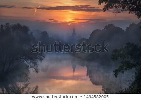 日没 クレムリン ロシア 空 雲 夏 ストックフォト © mahout