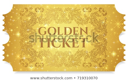 golden tickets Stock photo © get4net