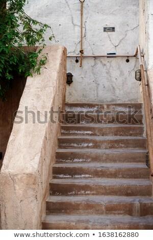 old courtyard stock photo © kayco