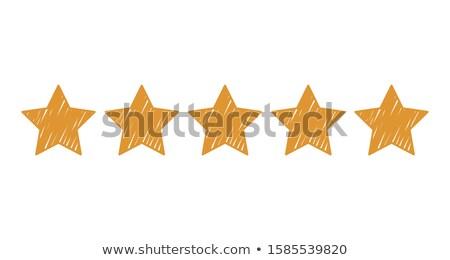 rating star sketch icon stock photo © rastudio