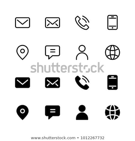 Contacts icon Stock photo © Oakozhan