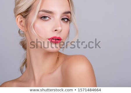 makeup of beautiful blonde  Stock photo © ssuaphoto