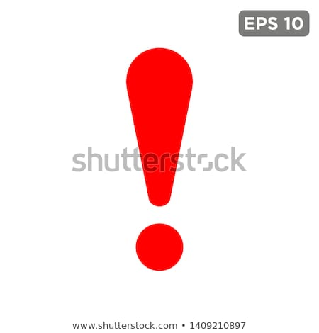 Exclamation Mark Stock photo © limbi007