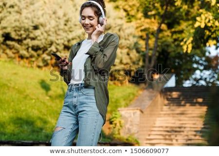nature of a teenager walk Stock photo © Olena
