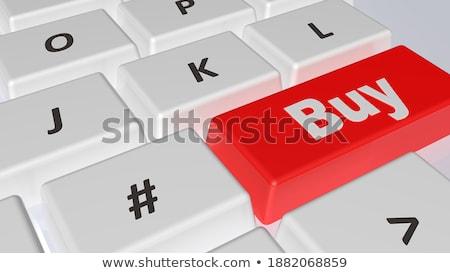 buy   red keypad 3d stock photo © tashatuvango